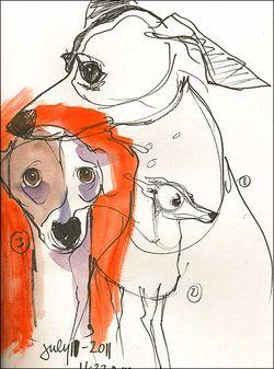 110711AGrayhoundface