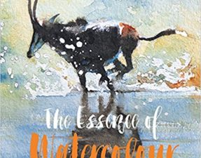 "Cover of ""The Essence of Watercolor,"" by artist and author Hazel Soan."